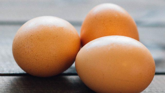 těstovinový salát s vejcem