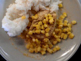 kuřecí plátek s kukuřicí