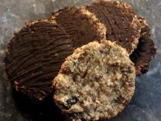 ovesné sušenky s kokosem