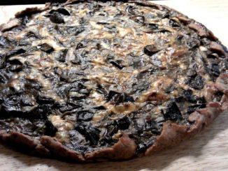 houbový koláč