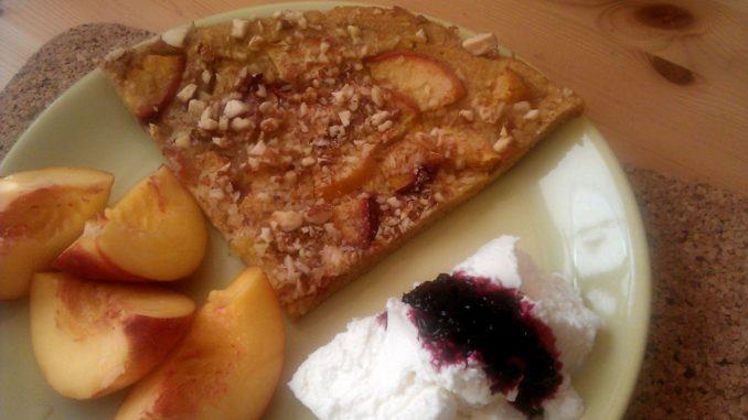 jogurtová bublanina s ovocem
