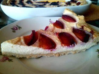 ovocný koláč s ricottou