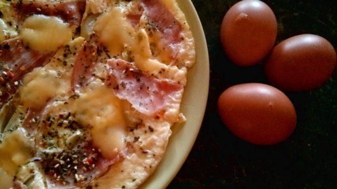 bílková omeleta