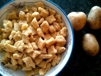 bramborové gnocchi