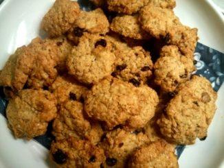 domácí sušenky z ovesných vloček
