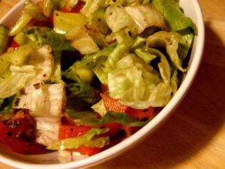 výborný zeleninový salát