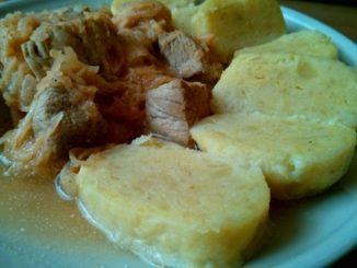 bramborové knedlíky