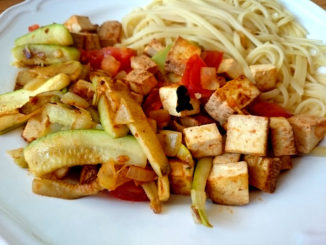 tofu na pánvi