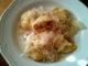 plněné bramborové knedlíky uzeným masem