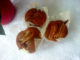 skořicové muffiny s hruškou