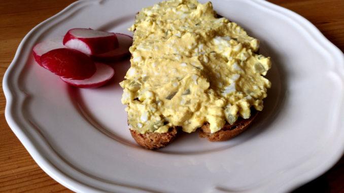 vajíčková pomazánka z lučiny
