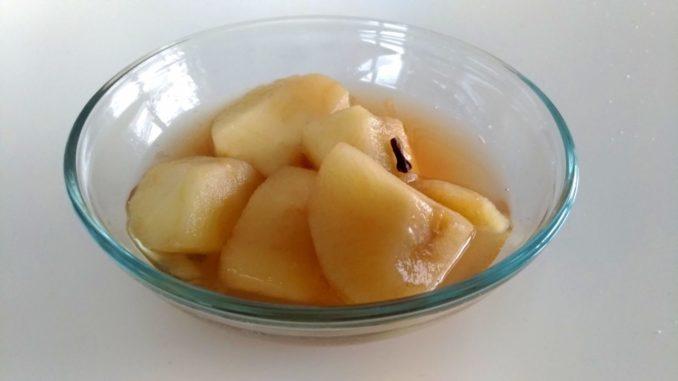 Domácí jablečný kompot