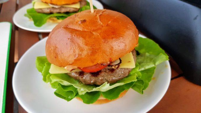 hovězí burger